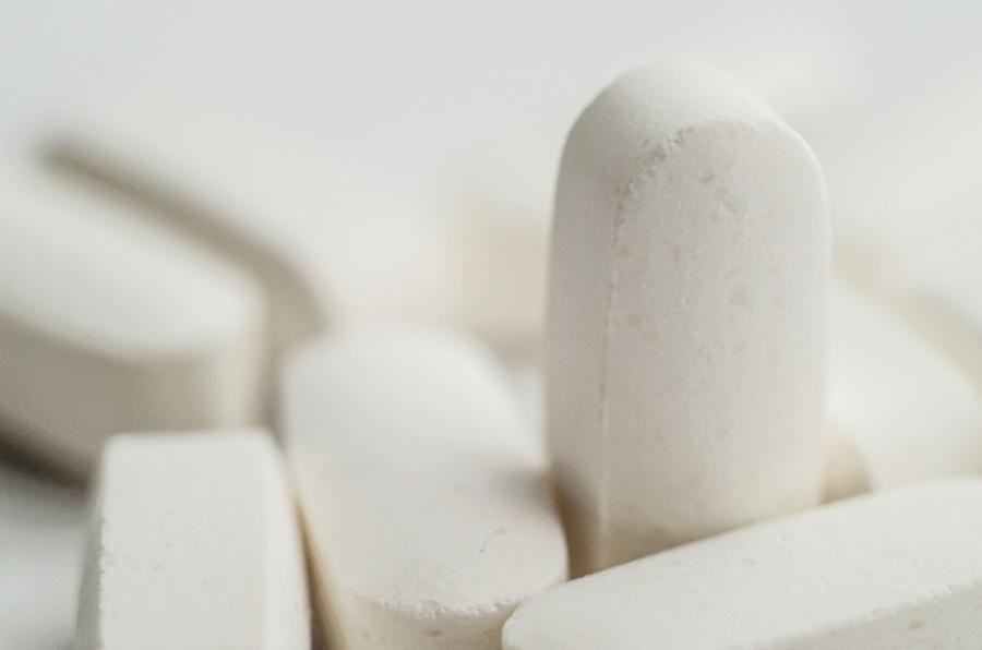 medicina, comprimidos, pó, medicamento, vitamina