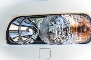 headlight, car, vehicle, automobile, transportation, vehicle