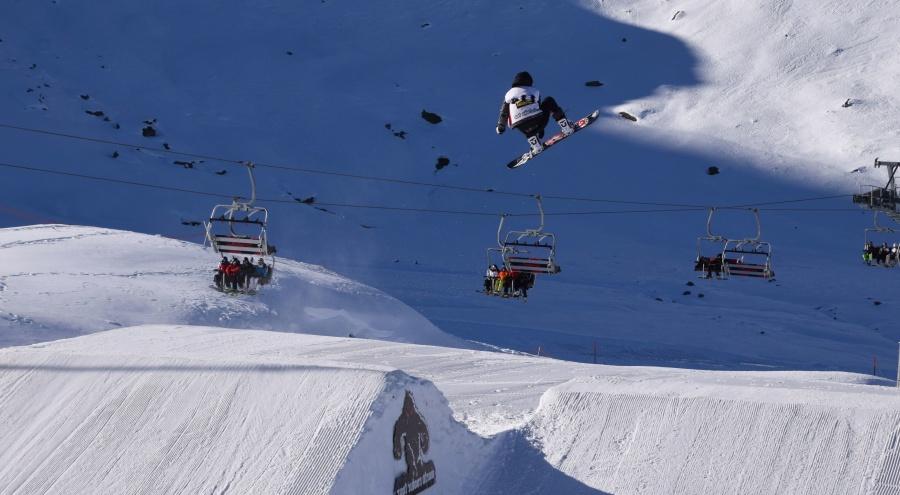 snijeg, skijanje, skakanje, hladno, zima, led, žičare