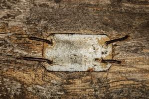kov, deska, kovový hřebík, dřevo, prkna, textury