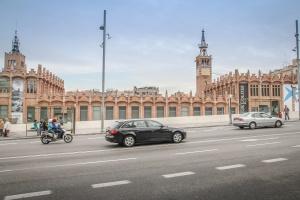 traffic, street, asphalt, car, motorcycle, city, architecture