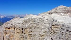 Paysage, falaise, roche, montagne, ciel, texture, gens