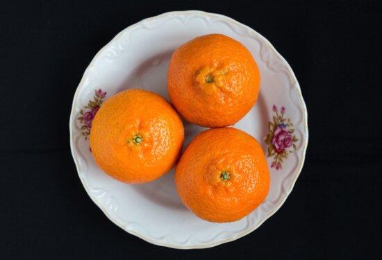 mandarin, fruit, sweet, plate, sweet, fresh, organic, nutrition