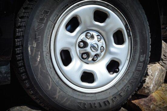 tire, wheel, screw, valve, car, vehicle