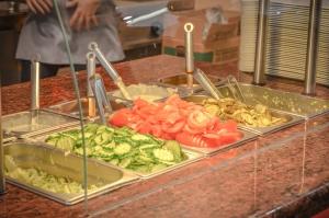 salat, grønnsaker, tomat, agurk, mat, økologisk, ernæring