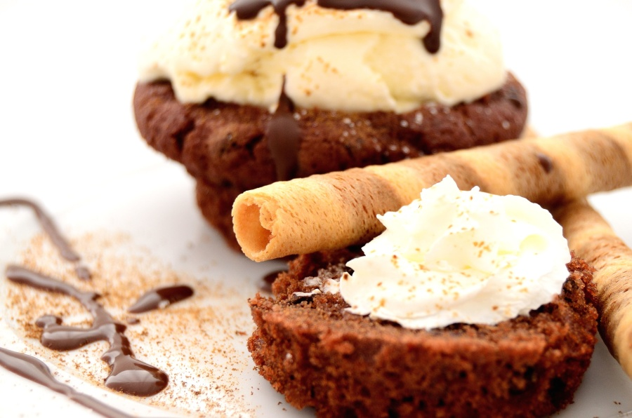 쿠키, 달콤한, 디저트, 맛 있는, 초콜릿, 시럽, 식품