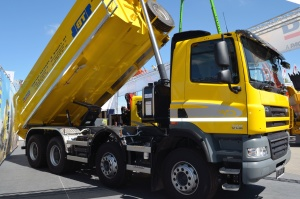 truck, vehicle, hydraulics, mechanics, transport