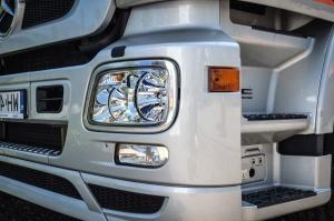 Faro, camion, metallo, veicolo, trasporto, specchio