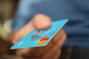 kreditní kartu, ekonomiky, platební, financí, plastové, ruční