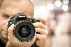 photo camera, photographer, lens, equipment, technology, digital, photography, person