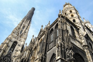cathedral, church, architecture, facade, building, tower, gothic, religion