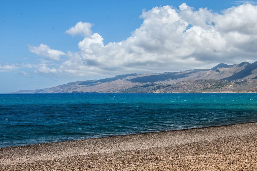 Plage, mer, eau, océan, côte, sable, vacances, voyage, ciel, été, paysage