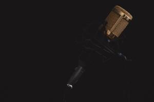 microphone, device, music, sound, black, audio