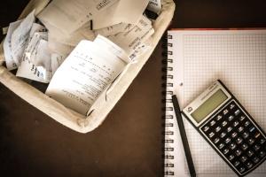 Geschäft, Papier, Finanzen, Konto, Taschenrechner, Technologie, Stift, Notebook