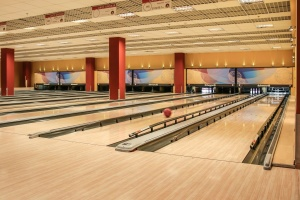 modern, architecture, building, technology, sport, bowling, ball