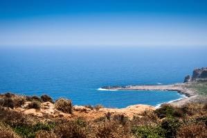sea, beach, ocean, coast, water, landscape, travel, summer, sky, horizon
