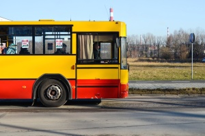 bus, conveyance, transportation, vehicle, road, wheel, drive
