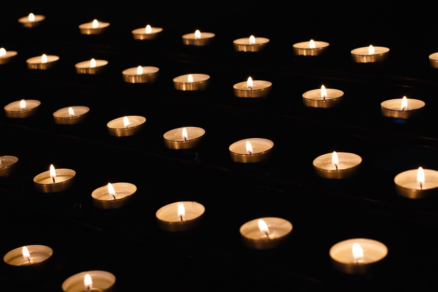 свічки воскові полум'я, освітлення, теплі, романтичний