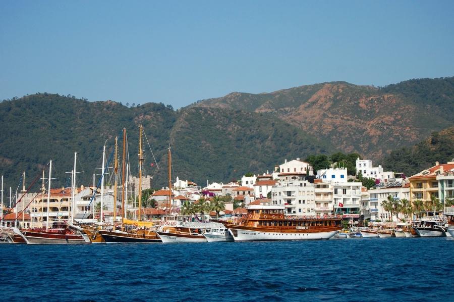 City, vesi, matka, Matkailu, arkkitehtuuri, vene, sky, aluksen