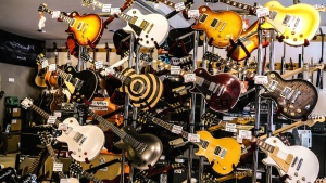shop, music, guitar, string, acoustic instrument, technology, electronics