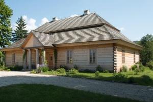Maison, bois, ciel, bâtiment, architecture, cheminée, fenêtre, route