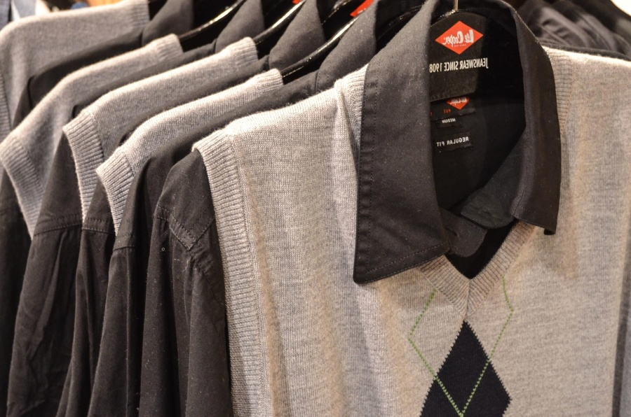 skriňa, shop, košeľa, sveter, textílie, štítok