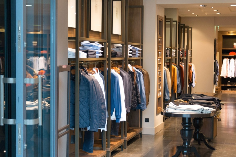 boutique, style, interior, small, clothes, shelf, textile, jacket, shirt