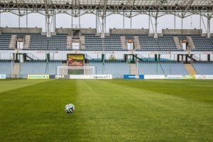football, sport, grass, construction, architecture, seats, advertising, construction