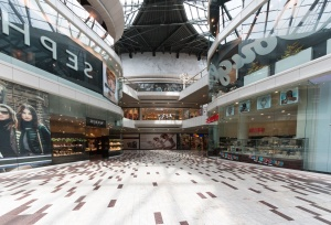 soping center, reklame, glass, gulv, interiør, konstruksjon, arkitektur
