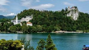 água, paisagem, céu, viagens, lago, árvore, verão, mar, Rio, praia, turismo