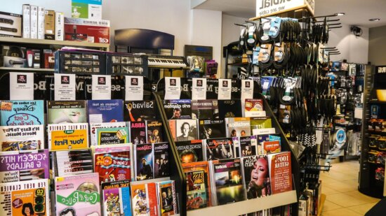 shop, bookshop, stall, marketplace, collection, colorful
