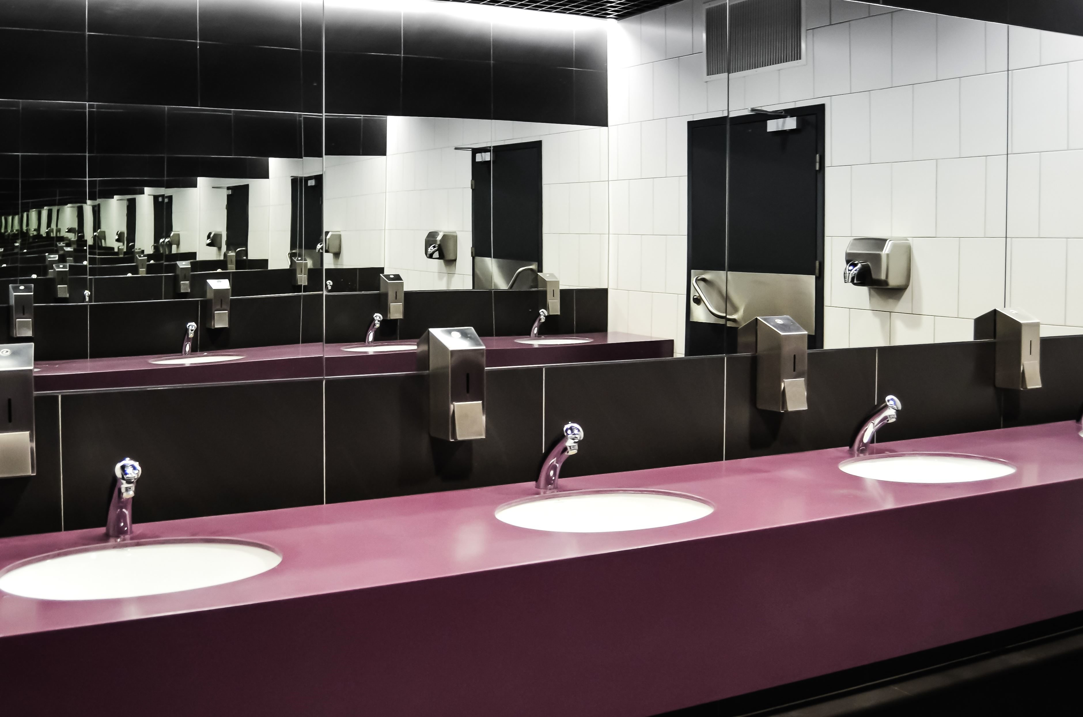 Free picture: toilet, washbasin, faucet, mirror, hygiene, room ...