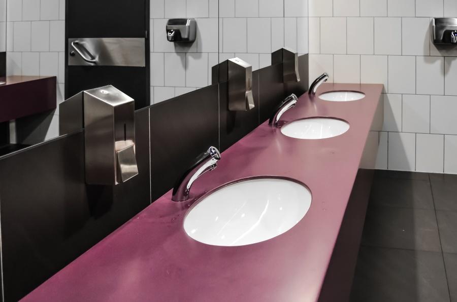 ห้องน้ำ ห้อง ห้องน้ำ ล้างหน้า เฟอร์นิเจอร์ ตกแต่งภายใน