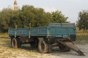 truck, vehicle, transportation, trailer, machine, transport, wheel, road