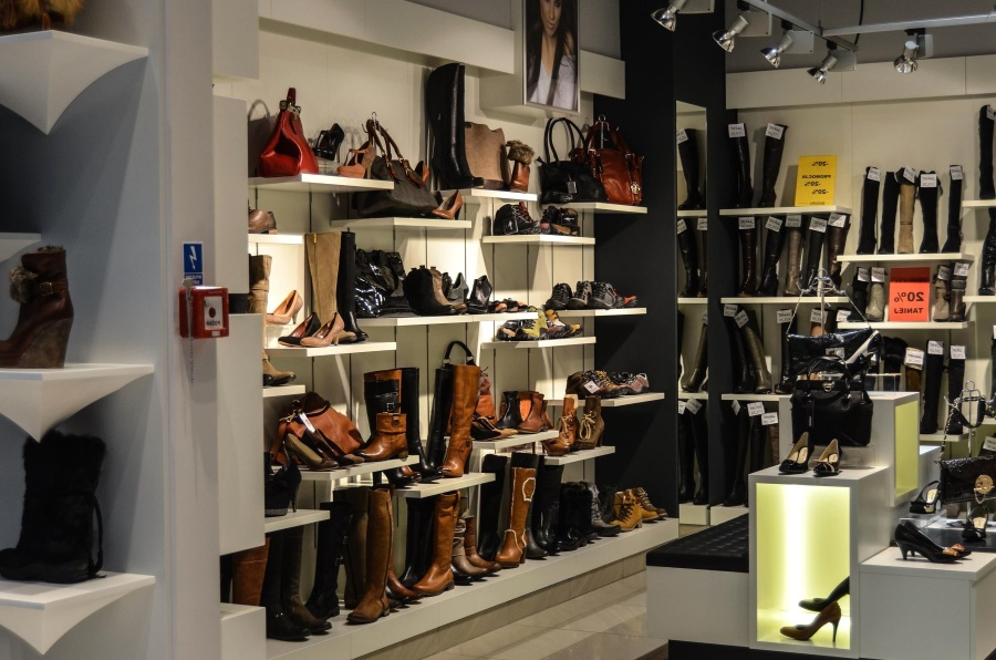 магазин обуви, ботинок, супермаркет