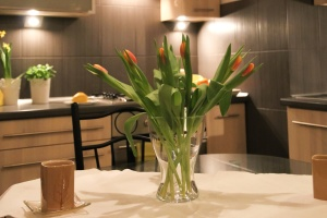 vase, plant, flower, leaf, decoration, house, table, chair, bouquet