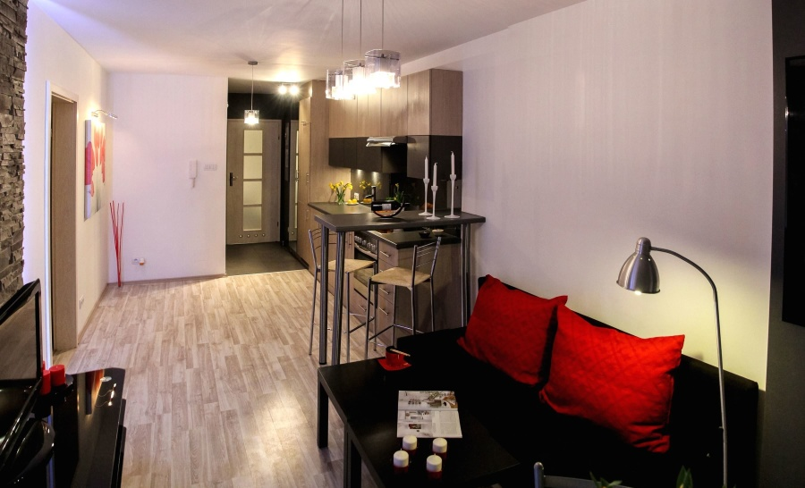 rom, interiør, hjem, møbler, leilighet, tabell, gulv, moderne