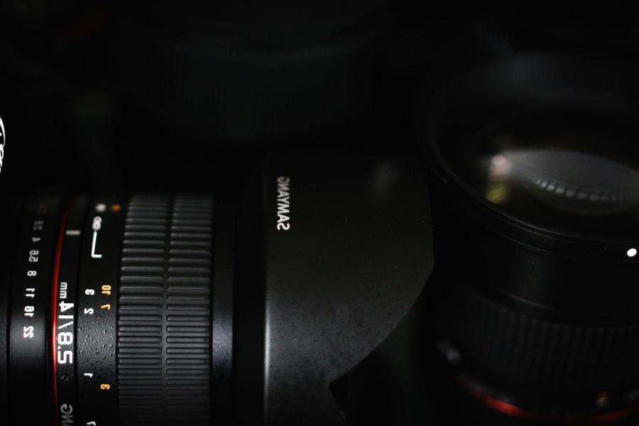 black, equipment, lens, technology, camera