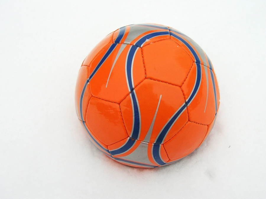ball, sport, football, game, snow, winter