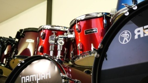 drum, instrument, music, metal, membrane, shop