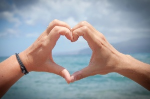 hand, finger, human, symbol, sea, heart, love
