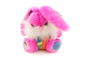 rabbit, toy, color, plush, fur