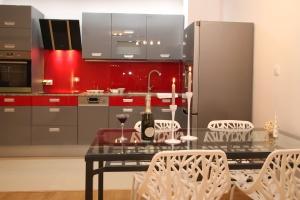 가정, 인테리어, 가구, 방, 집의 자, 현대, 디자인, 주방, 테이블