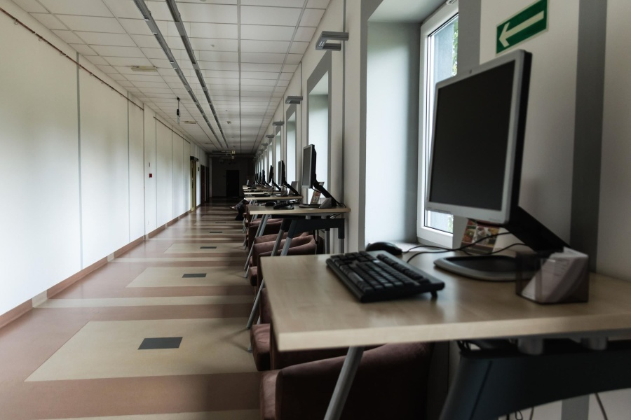 computer, table, chair, internet, technology, university, office, architecture