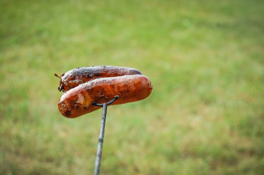sausage, meat, barbecue, grill, delicious, nutrition