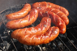 sausage, meat, food, barbecue, food