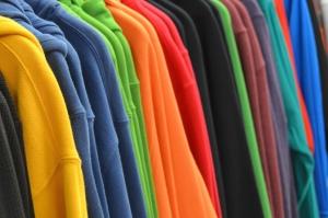布、繊維、布、色、モダンでカラフルです