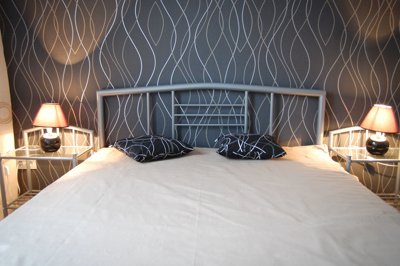 Free Picture Bedroom Interior Luxury Lamp Design Pillow