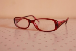 Occhiali, oggetto, cornice, rosso, occhiali da sole