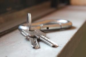 metalen sleutel, metaal, tool, object, staal